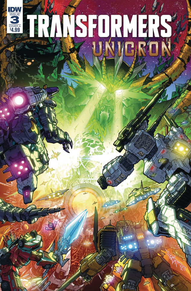 The Transformers: Unicron #3 (Milne Cover)