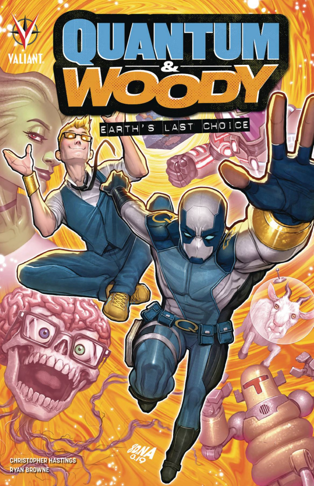 Quantum & Woody: Earth's Last Choice