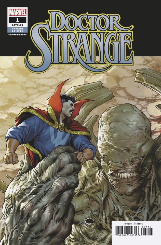 Doctor Strange #1 (Saiz 2nd Printing)