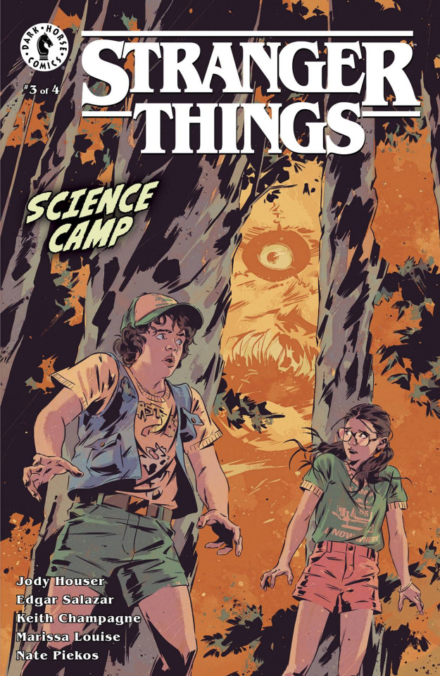 Stranger Things: Science Camp #3 (Bak Cover)