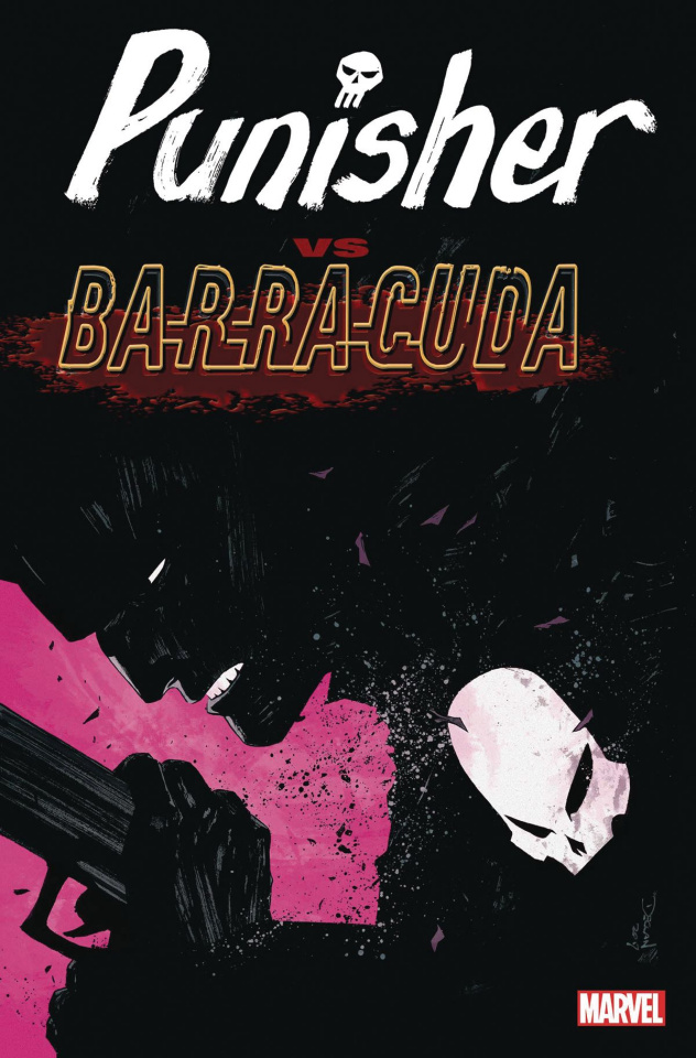 The Punisher vs. Barracuda #1 (Shalvey Cover)