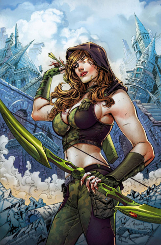 Grimm Fairy Tales: Robyn Hood - The Legend #5 (Malsuni Cover)