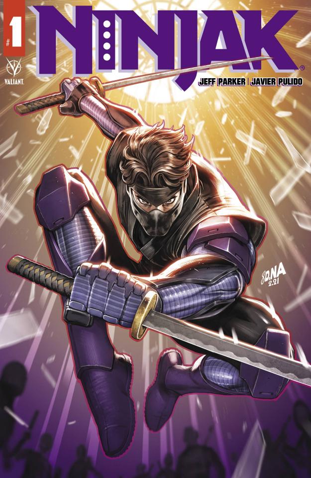 Ninjak #1 (Nakayama Cover)