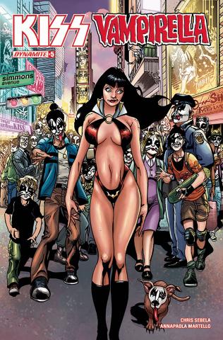 KISS / Vampirella #5 (Castro Cover)