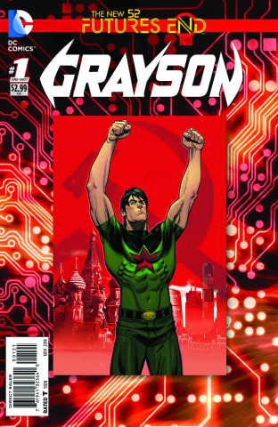 Grayson: Future's End #1 (Standard Cover)