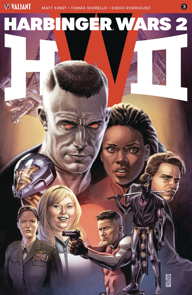 Harbinger Wars 2 #3 (Jones Cover)