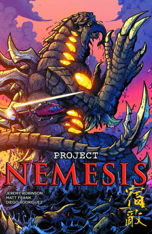 Project Nemesis #5 (Frank Cover)