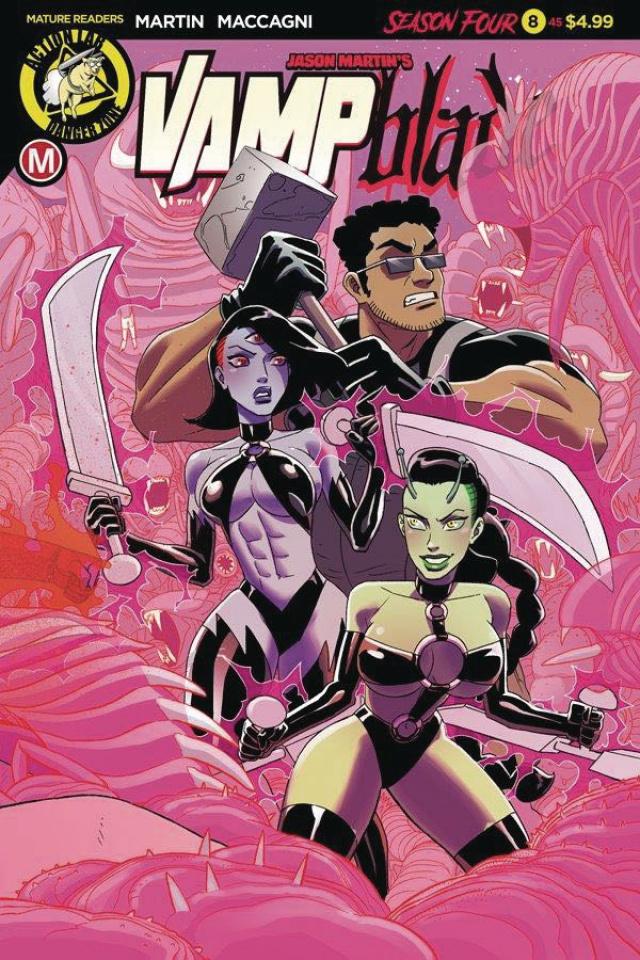 Vampblade, Season Four #8 (Young Cover)