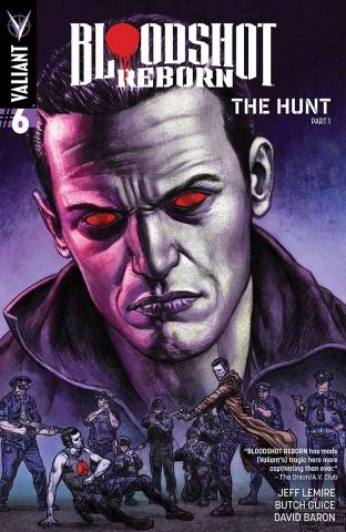 Bloodshot: Reborn #6 (Fabry Cover)