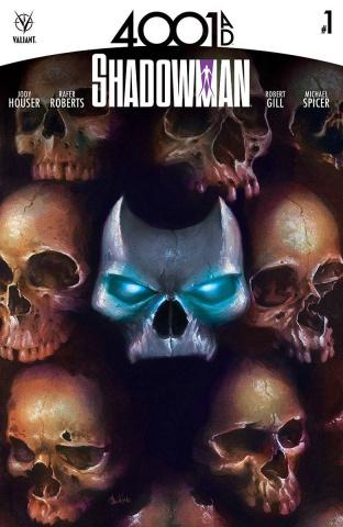 4001 AD: Shadowman #1 (Hetrick Cover)