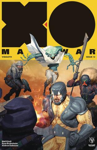 X-O Manowar #12 (20 Copy Olivetti Cover)