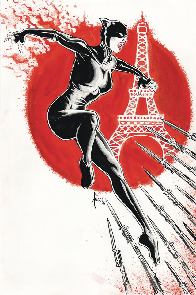 Miss Fury #2 (20 Copy Tucci Virgin Cover)