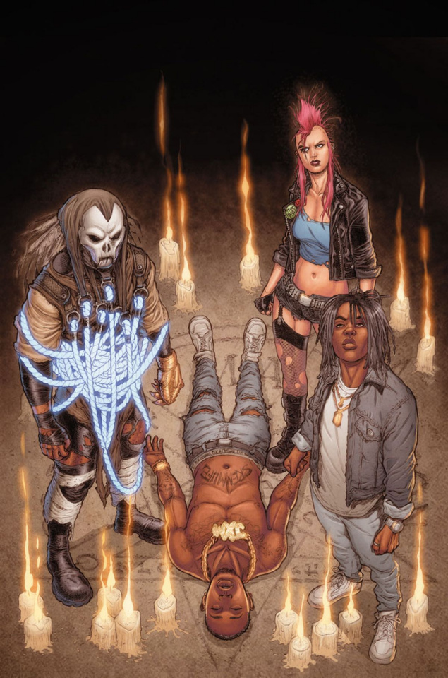 Shadowman / Rae Sremmurd #1 (10 Copy Ryp Cover)