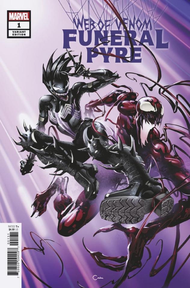 Web of Venom: Funeral Pyre #1 (Crain Cover)