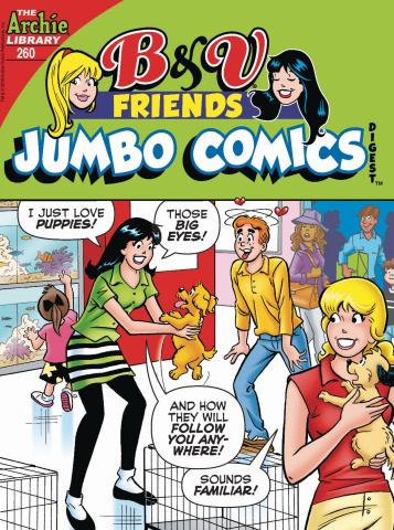 B & V Friends Jumbo Comics Digest #260