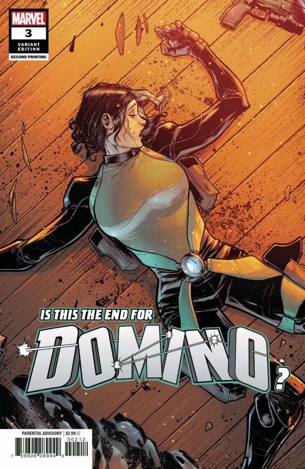 Domino #3 (Baldeon 2nd Printing)