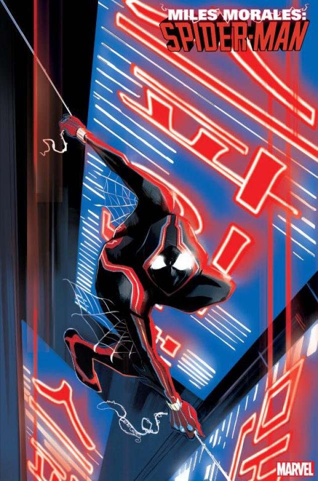 Miles Morales: Spider-Man #12 (Garbett 2099 Cover)