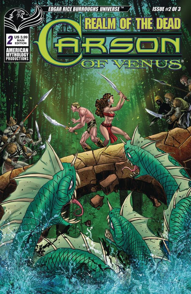 Carson of Venus: Realm of the Dead #2 (Mesarcia Cover)