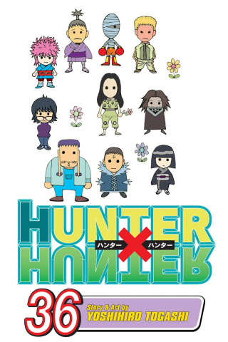 Hunter x Hunter Vol. 36