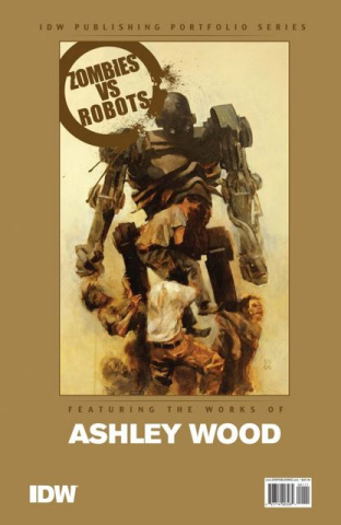 Zombies vs. Robots: Ashley Wood Portfolio Set