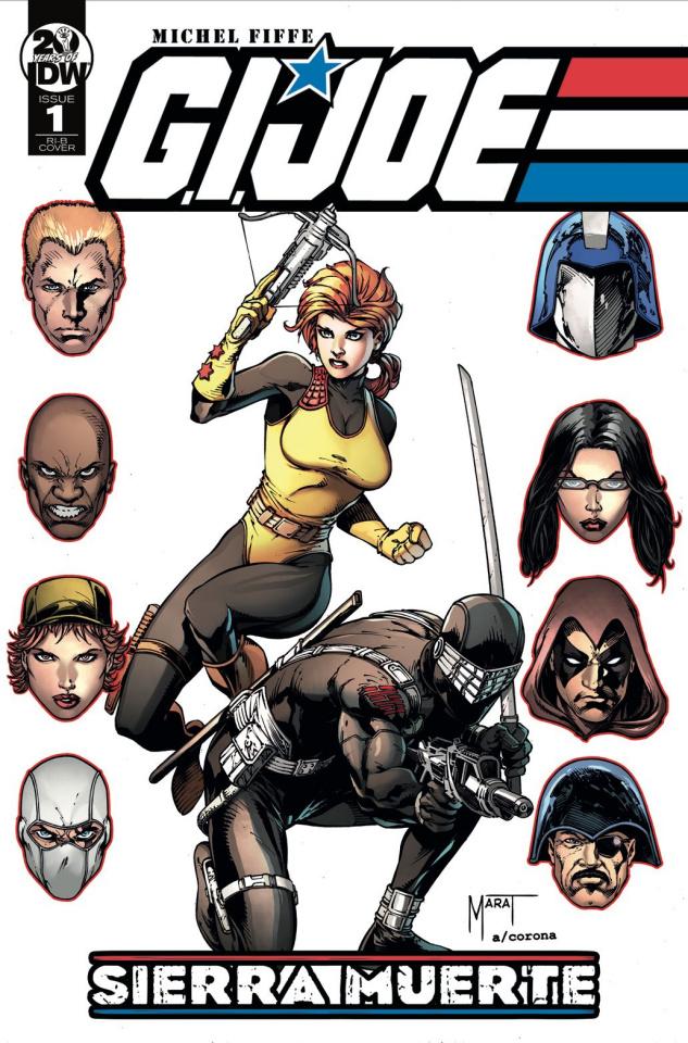 G.I. Joe: Sierra Muerte #1 (25 Copy Mychaels Cover)