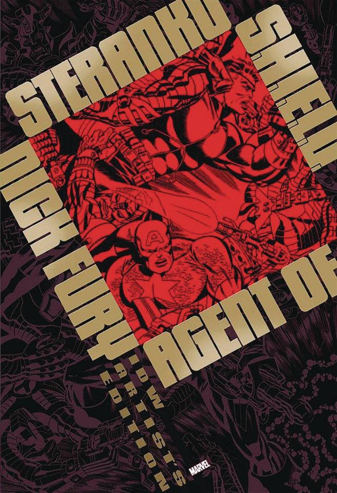 Steranko's Nick Fury: Agent of S.H.I.E.L.D. Artist's Edition