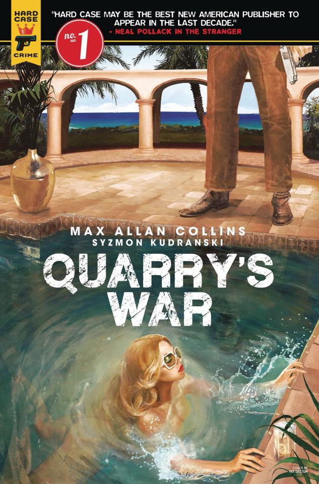 Quarry's War #1 (Dalton Cover)