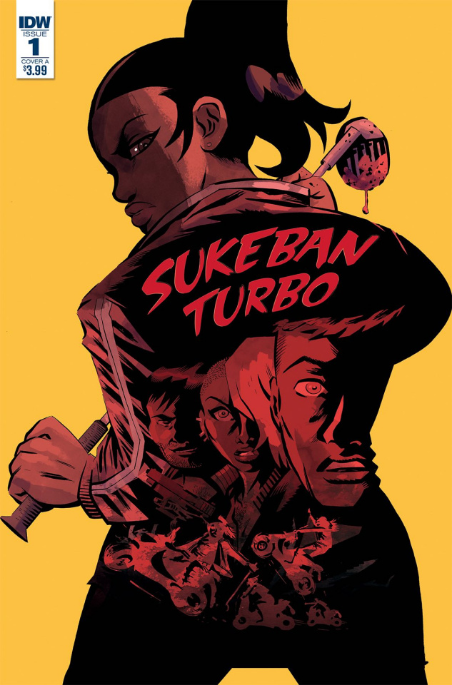 Sukeban Turbo #1 (Santos Cover)