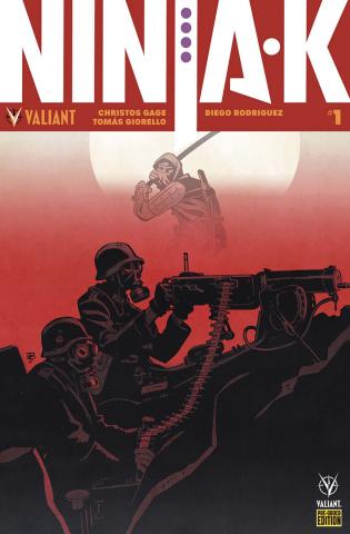 Ninja-K #1 (Cover F)