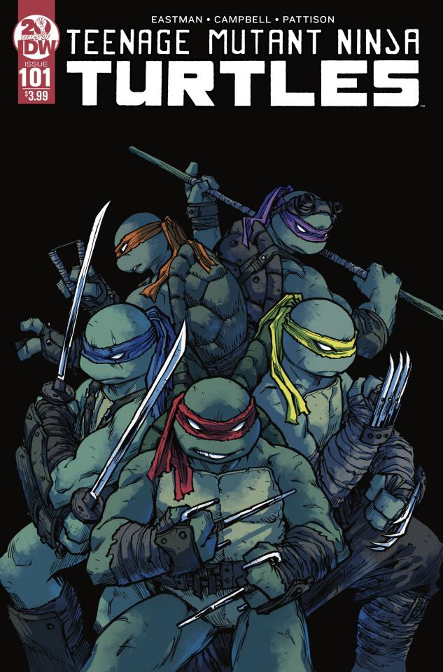 Teenage Mutant Ninja Turtles #101 (2nd Printing)