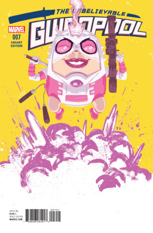 Gwenpool #7 (Walsh Modok Cover)