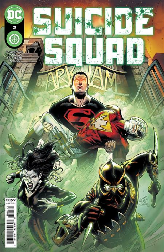 Suicide Squad #2 (Eduardo Pansica Cover)