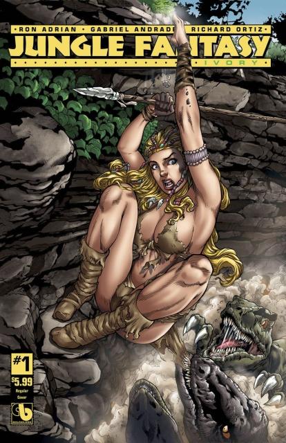Jungle Fantasy: Ivory #1-8: Bag Set
