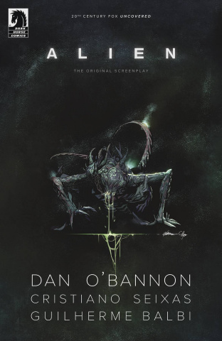 Alien: The Original Screenplay #5 (Balbi Cover)