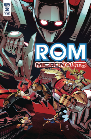 ROM & The Micronauts #2 (Samu Cover)