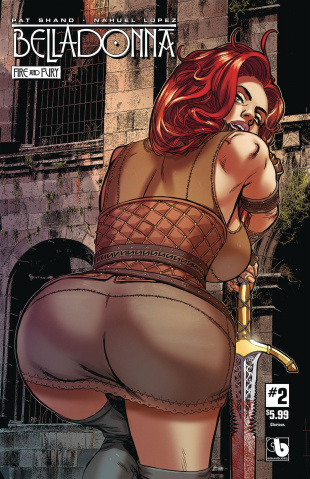 Belladonna: Fire and Fury #2 (Glorious Cover)