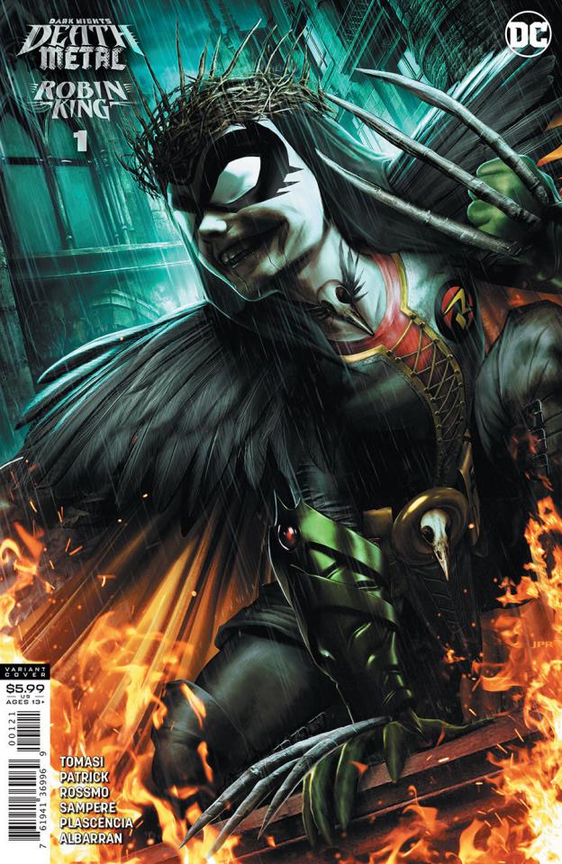 Dark Nights: Death Metal - Robin King #1 (1:25 Jeremy Roberts Cover)