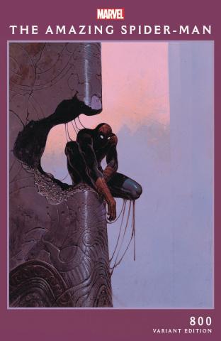 The Amazing Spider-Man #800 (Moebius Cover)