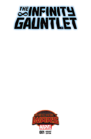 The Infinity Gauntlet #1 (Blank Cover)