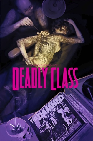 Deadly Class #27 (Del Rey Cover)