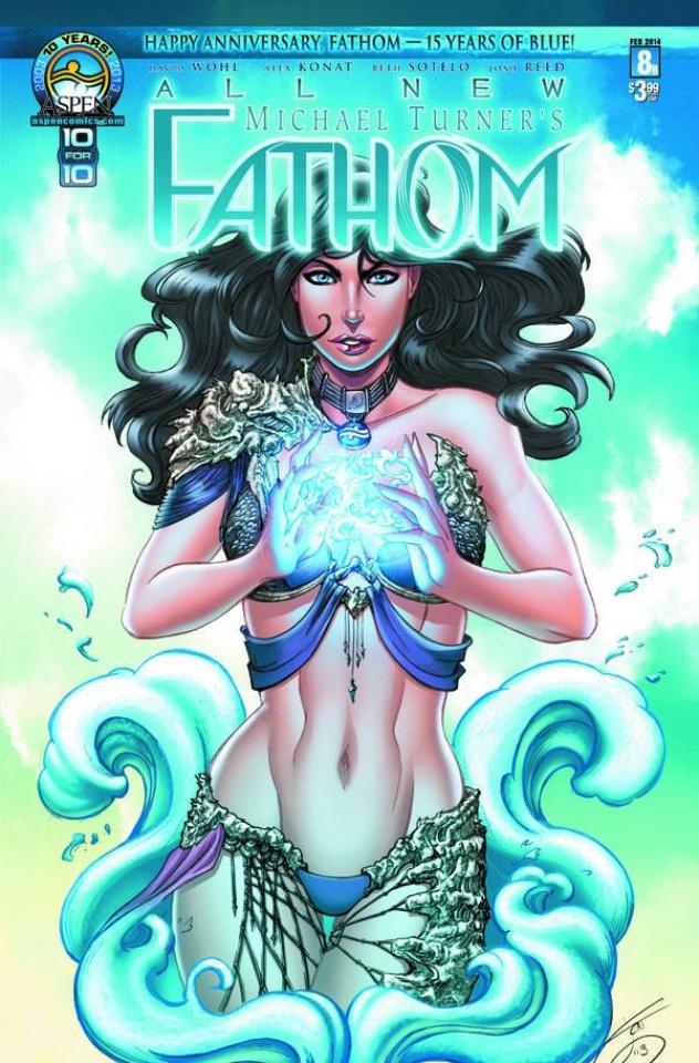 All New Fathom #8 (Cover B)