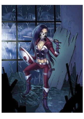 Grimm Fairy Tales: Robyn Hood #17 (Red Death Andolfo Cover)