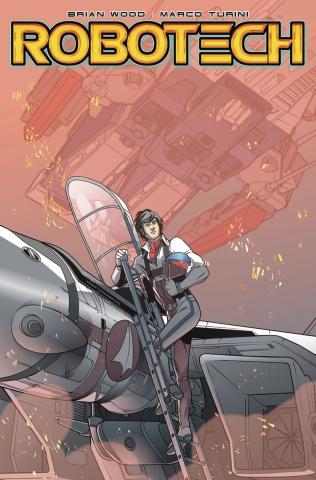 Robotech #1 (SDCC Cover)