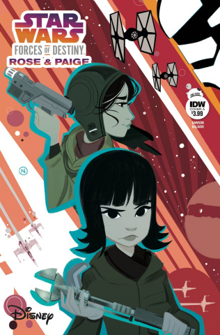 Star Wars Adventures: Forces of Destiny - Rose & Paige