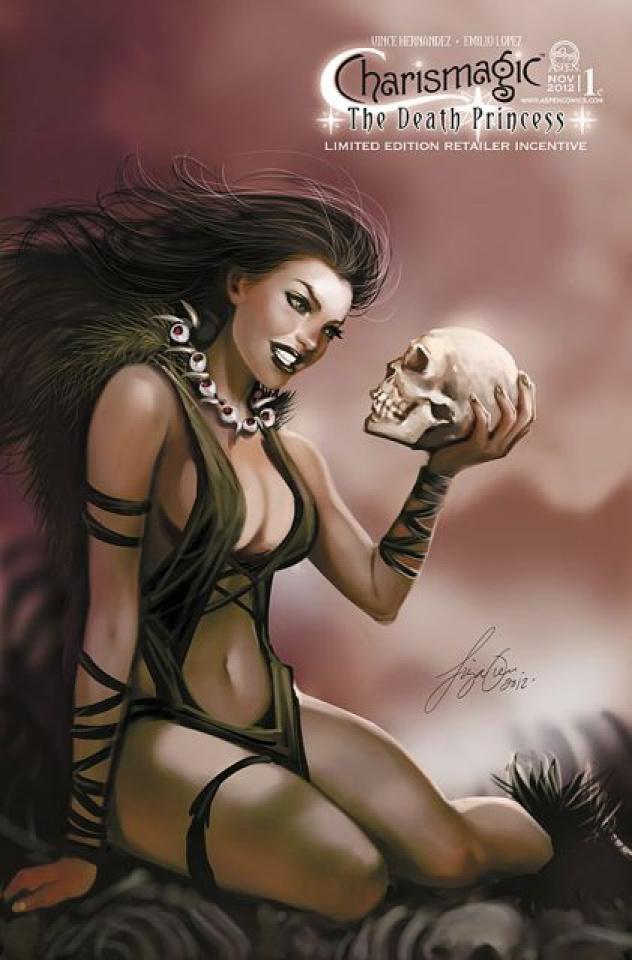 Charismagic: The Death Princess #1 (Oum Cover)