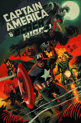 Captain America and Black Widow #640