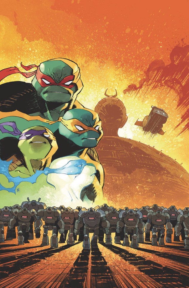 Teenage Mutant Ninja Turtles: IDW 2020 (Daniel Cover)
