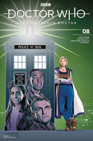 Doctor Who: The Thirteenth Doctor #8 (Jones Cover)