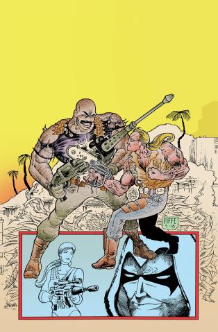 G.I. Joe: Sierra Muerte #1 (Fiffe Cover)