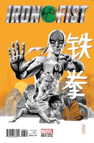 Iron Fist #3 (J.G. Jones Cover)